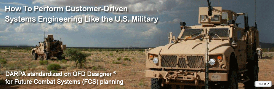 Customer Driven Engineering in the DoD's Future Combat System